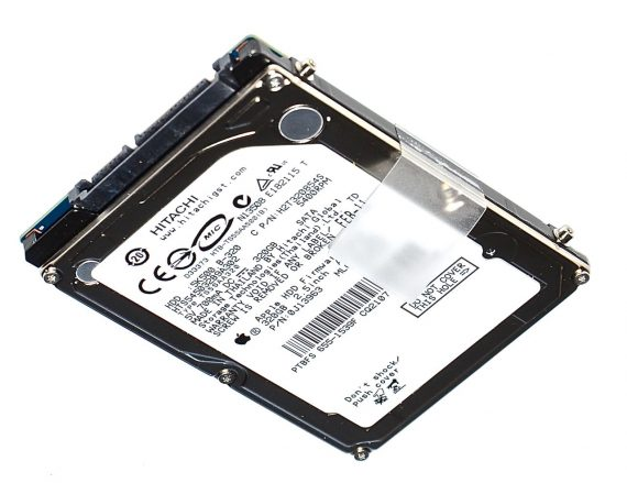 "Original Apple Festplatte 2,5"" SATA Hitachi HTS545032B9A302 655-1539F 320GB MacBook Pro 13"" ( Early 2011 / Late 2011) A1278-0"