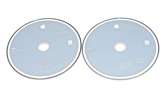 "Original Apple 2 DVD MAC OS X 10.6.6 iMac 21.5"" A1311 Mid 2011-0"