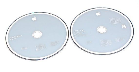 Original Apple 2 DVD MAC OS X 10.6 Mac Mini A1283 Late 2009-0
