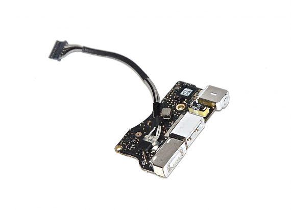 """Original Apple DC-IN MagSafe I/O Audio Board 820-2861-A MacBook Air 13"""" A1369 Late 2010 661-5792-0"""