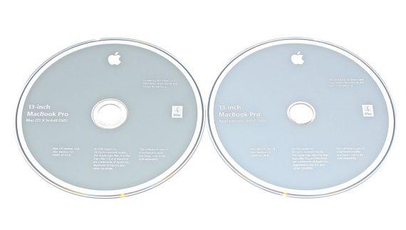 "Original Apple 2 DVD MAC OS X 10.6 2Z691-6533-A MacBook Pro 13"" A1278 ( Mid 2009 / Mid 2010 ) -0"