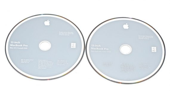 "Original Apple 2 DVD MAC OS X 10.5.7 2Z691-6457-A MacBook Pro 13"" A1278 Mid 2009 / Mid 2010 -0"