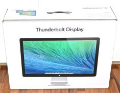 "Original Apple Verpackung OVP Karton für Thunderbolt Display 27"" Model A1407-0"