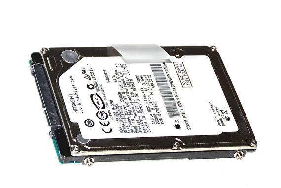 "Original Apple Festplatte 2,5"" SATA Hitachi 250GB HTS545025B9SA02 MacBook Pro 15"" Model A1286 Late 2008 / Early 2009-0"