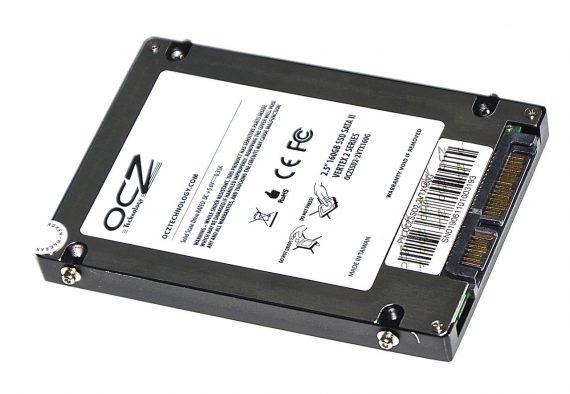 "Original SSD - Festplatte 2.5 SATA OCZ Vertex 2 160GB OCZSSD2-2VTX160G MacBook Pro 15"" Model A1286 Late 2008 / Early 2009-5842"