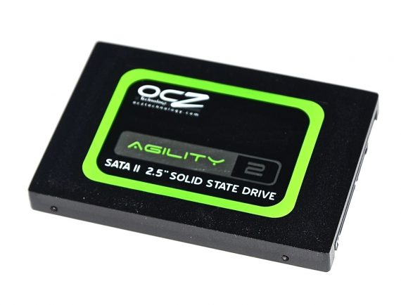 "SSD Festplatte 2.5"" SATA OCZ 240GB OCZSSD2-2VTXE240G iMac 27"" Late 2009 A1312 -0"