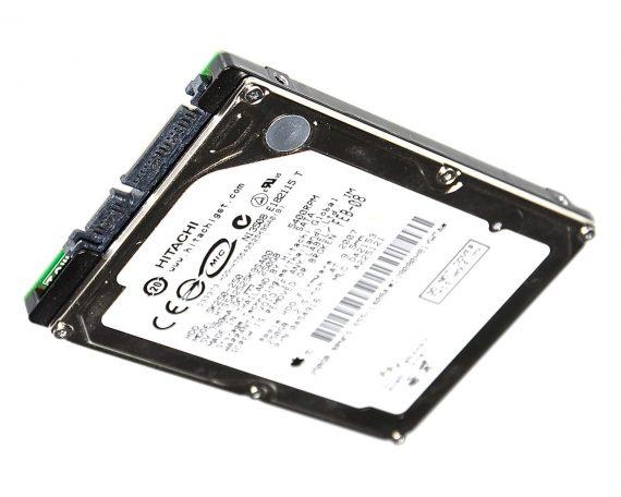 """MacBook Pro 17"""" Festplatte 2,5"""" SATA Hitachi 250GB HTS542525K9SA00 Model A1261-0"""