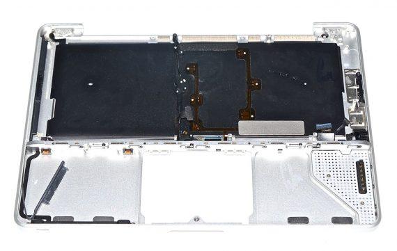 "Original Apple Topcase & Tastatur & Deutsch MacBook Unibody 13"" Late 2008 / Mid 2008 A1278 -6438"