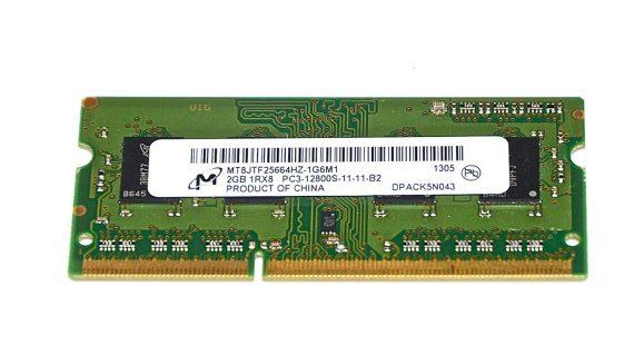"Original Arbeitsspeicher 2GB PC3-12800 DDR3 1600Mhz MacBook Pro 13"" Mid 2012 Model A1278 -0"