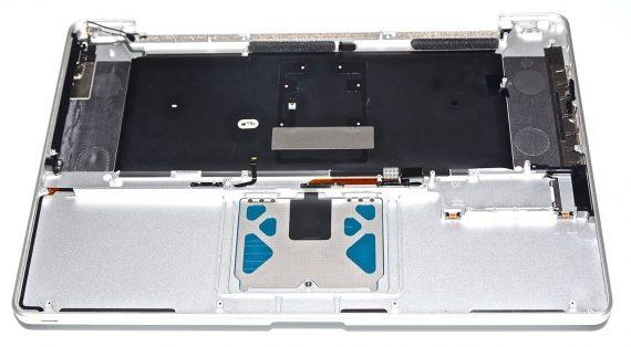 "Original Apple Topcase & Tastatur Deutsch &Trackpad MacBook Pro 17"" Model A1297 Mid 2010 -6548"