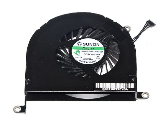 "Original Apple Left Fan / Lüfter links MG45070V1-Q021 MacBook Pro 17"" Model A1297 Mid 2010 -0"