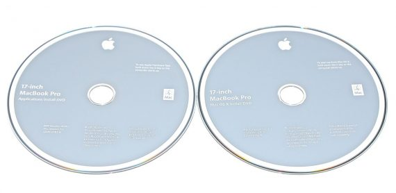 "Original Apple 2 DVD MAC OS X 10.6.3 2Z691-6582-A MacBook Pro 17"" Model A1297 Mid 2010 -0"