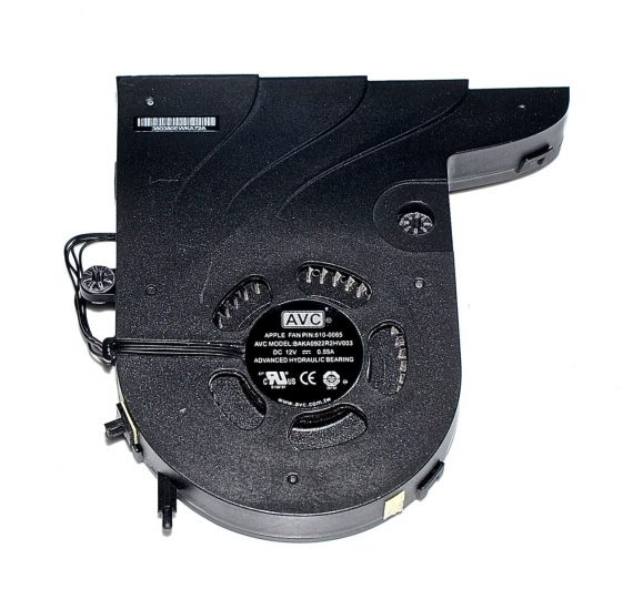 "Fan / Lüfter CPU BAKA0922R2HV003 610-0065 iMac 27"" Mid 2010 A1312-0"