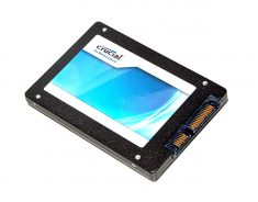 "Festplatte SSD Crucial 256GB CT256M4SSD2 MacBook Unibody 13"" Late 2008 / Mid 2008 A1278-0"