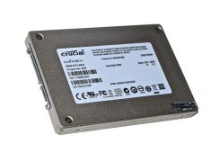 "Festplatte SSD Crucial 256GB CT256M4SSD2 MacBook Unibody 13"" Late 2008 / Mid 2008 A1278-6824"