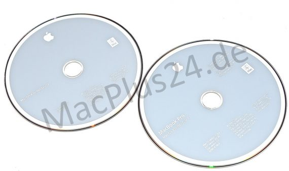 "Restore 2 DVDs MAC OS X 10.5.2 MacBook Pro 15"" A1226-0"