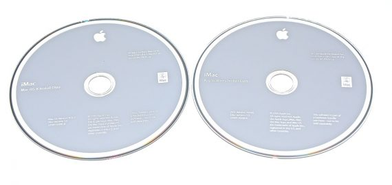 "Original Apple 2 DVD Apple Mac OS X 10.6.2 2Z691-6590-A Snow Leopard iMac 27"" A1312 Late 2009-0"