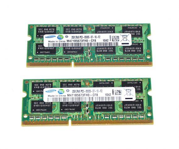 Samsung Arbeitsspeicher 4GB (2GB x2GB) PC3-8500 DDR3 1066Mhz Mac Mini A1347 Mid 2010 -0