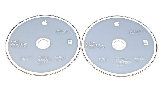 "Original Apple 2 DVD MAC OS X 10.5.7 Snow Leopard MacBook Pro 15"" Model A1286 Mid 2009-7029"