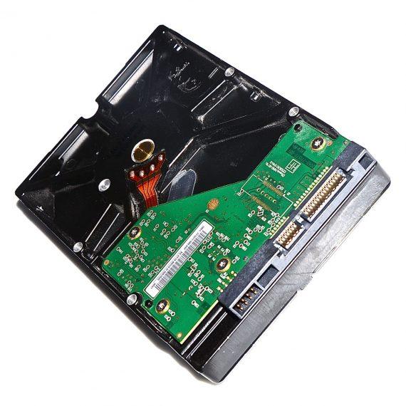 """Festplatte 3,5"""" Western Digital 640GB WD6400AAKS 655-1528C iMac 24"""" A1225 Early 2009-7047"""