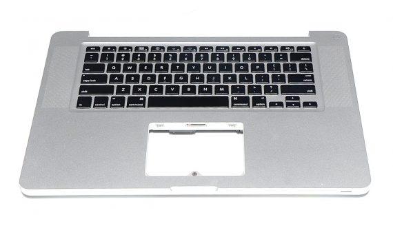 """Original Topcase & Tastatur QWERTY Englisch MacBook Pro Unibody 15"""" Mid 2010 A1286-0"""