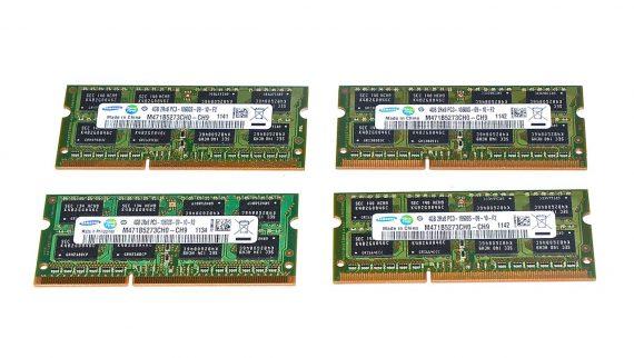 """Arbeitsspeicher RAM Samsung 16GB (4GB x 4GB) PC3-10600 DDR3 1333Mhz für iMac 27"""" A1312 Mid 2011-0"""