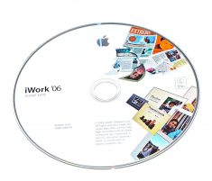 Original Apple DVD MAC Version 2.0.1 iWork ' 06 1Z691-5842-A RETAIL MA222D/A-0