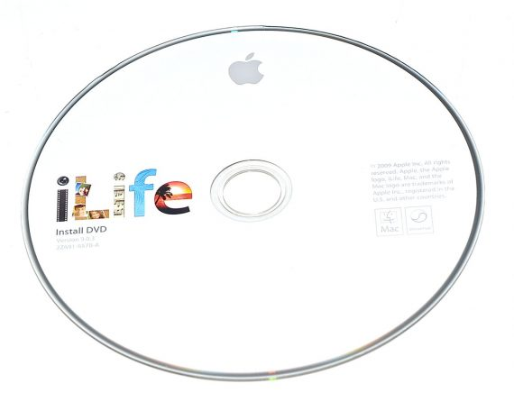 Original Apple DVD MAC Version 9.0.3 iLife 2Z691-6570-A RETAIL MB966D/A-0
