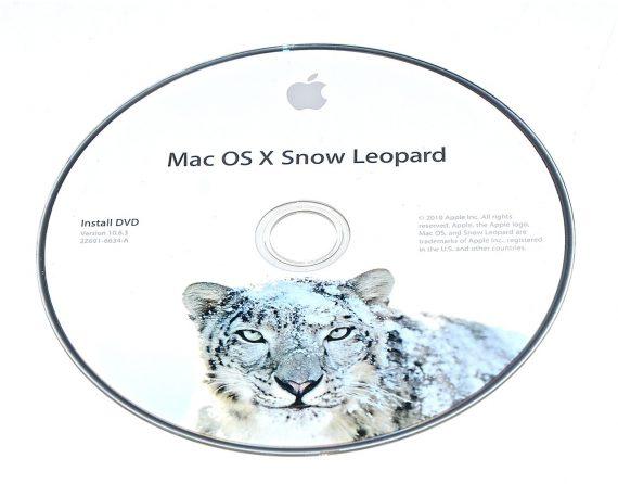 Original Apple DVD MAC OS X Version 10.6.3 Snow Leopard 2Z961-6634-A RETAIL-0