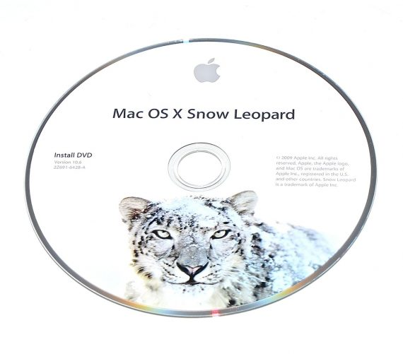 Original Apple DVD MAC OS X Version 10.6 Snow Leopard 2Z961-6428-A RETAIL-0