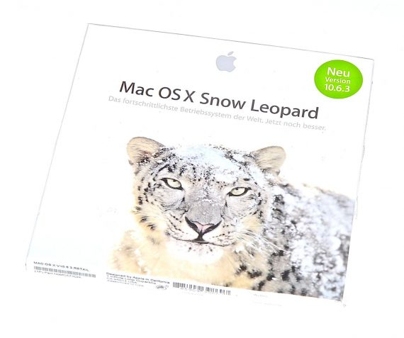 Original Apple DVD MAC OS X Version 10.6.3 Snow Leopard RETAIL-0