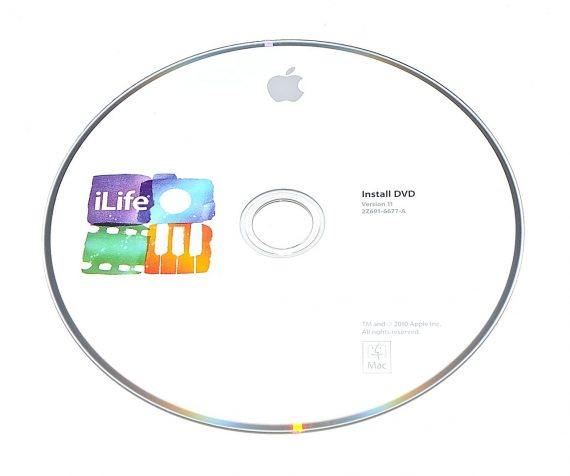 Original Apple DVD MAC iLife Version 11 2Z691-6677-A RETAIL MC623D/A-0