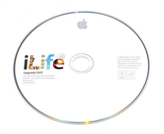 Original Apple DVD MAC iLife ' 09 Version 9.0 2Z691-6332-A -0