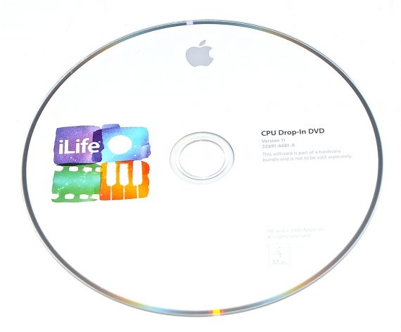 Original Apple DVD MAC iLife Version 11 2Z691-6681-A -0