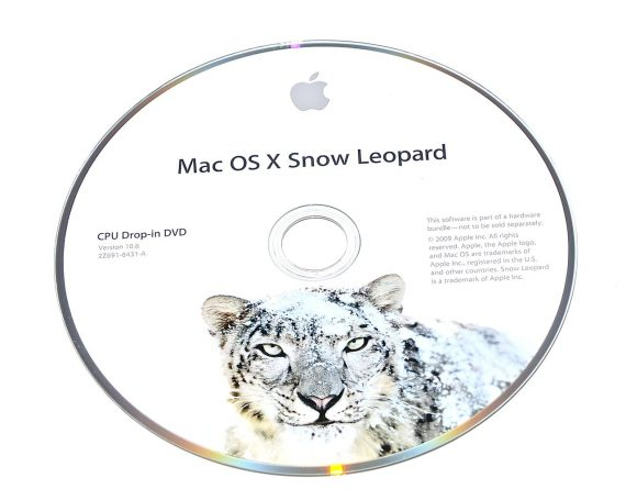 Original Apple DVD MAC OS X Version 10.6 Snow Leopard 2Z961-6431-A -0