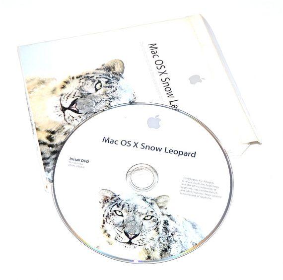 Original Apple DVD MAC OS X Version 10.6 Snow Leopard 2Z961-6558-A -0