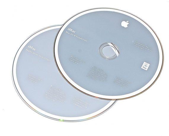 Original Apple Restore DVD MAC OS X iMac 2009 version 10.6.2 2Z961-6590-A -0