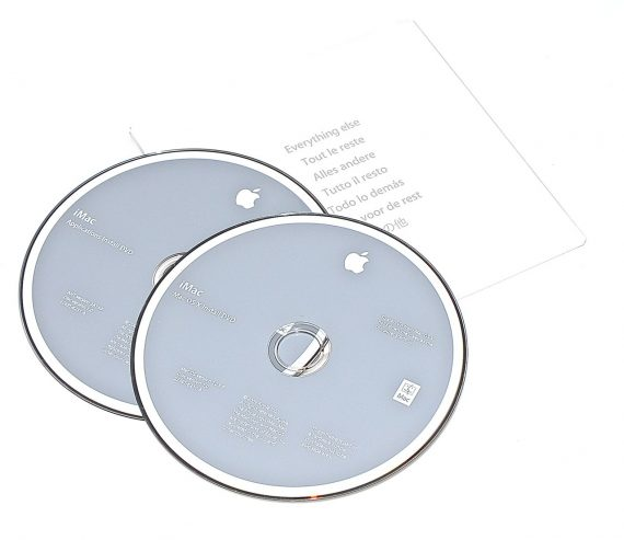 Original Apple Restore DVD MAC OS X iMac 2009 version 10.5.6 2Z961-6230-A -0