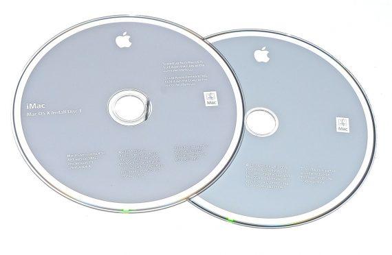 Original Apple Restore DVD MAC OS X iMac 2007 version 10.4.10 2Z961-6104-A -0