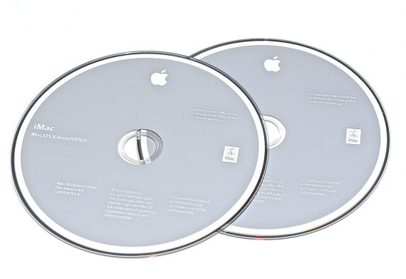 Original Apple Restore DVD MAC OS X iMac 2010 version 10.6.4 2Z961-6732-A -0