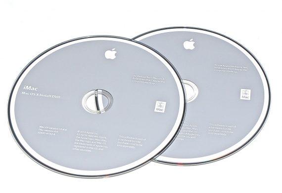 Original Apple Restore DVD MAC OS X iMac 2010 version 10.6.4 2Z961-6732-A -0