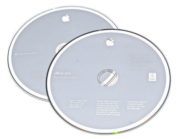 Original Apple Restore DVD MAC OS X iMac 2005 version 10.4 2Z961-5317-A -0