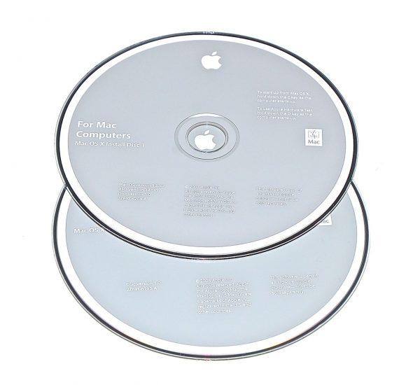 Original Apple Restore DVD MAC OS X 2008 version 10.5.2 2Z961-6204-A -0