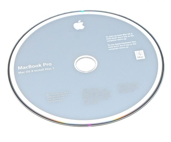 Original Apple Restore DVD MAC OS X version 10.5.2 2Z961-6164-A MacBook Pro-0