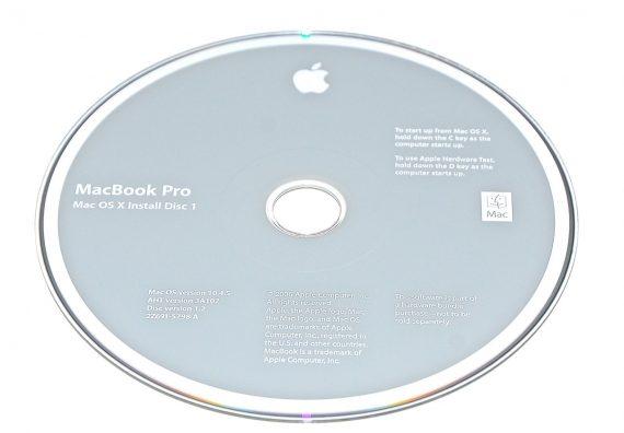 Original Apple Restore DVD MAC OS X 2006 10.4.5 2Z961-5798-A MacBook Pro-0