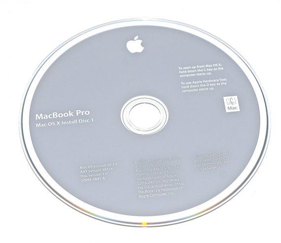Original Apple Restore DVD MAC OS X 2006 10.4.8 2Z961-5841-A MacBook Pro-0