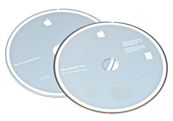 Original Apple Restore DVD MAC OS X 2006 10.4.8 2Z961-5948-A MacBook Pro-0