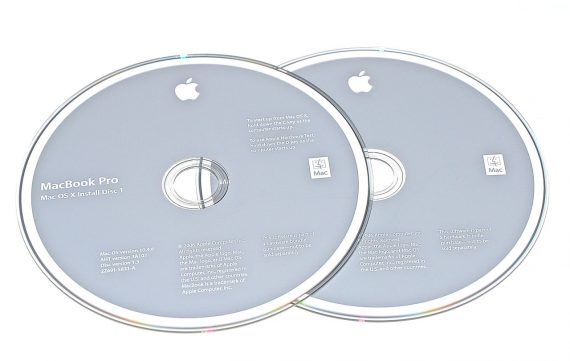 Original Apple Restore DVD MAC OS X 2006 10.4.6 2Z961-5831-A MacBook Pro-0
