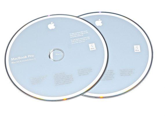 Original Apple Restore DVD MAC OS X 2007 10.4.10 2Z961-6088-A MacBook Pro-0