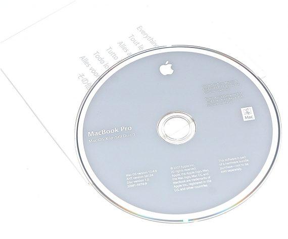 Original Apple Restore DVD MAC OS X 2007 10.4.9 2Z961-5974-A MacBook Pro-0